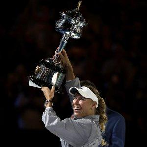 Denmark's Wozniacki Wins Australian Open
