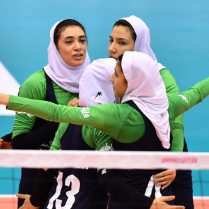 Iran defeated Macau in a three straight set victory.