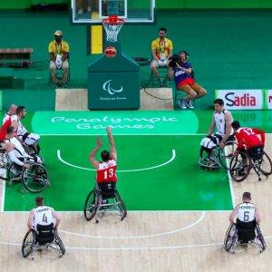 Wheelchair Basketball Team Drawn in Pool A