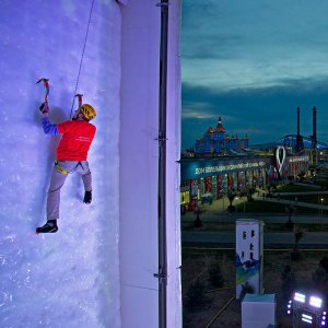 Ice climbing is another sport seeking Winter Olympic inclusion.