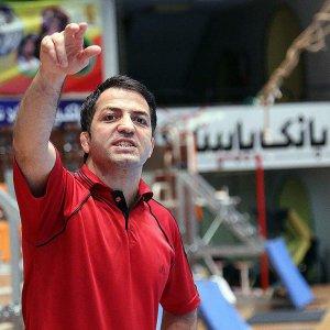 Ali Ashkani, manager of the Iran Greco-Roman team
