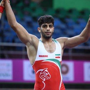 Mohammad-Hadi Saravi won gold.