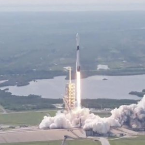 The SpaceX Falcon 9 rocket makes its debut launch from Florida's Cape Canaveral on May 11.