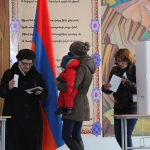 Armenia Holds First Parliamentary Poll Since Constitutional Change