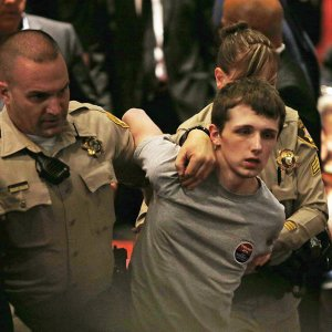 Michael Sandford got arrested after trying to assassinate Donald Trump in Las Vegas on June 18.