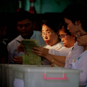 Myanmar Votes in By-Elections