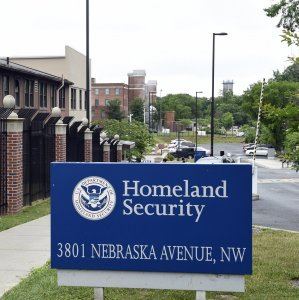 The Department of Homeland Security's headquarters in Washington (File Photo)