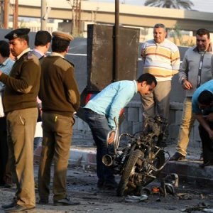 Bomb Wounds 16 Outside Egypt Police Center
