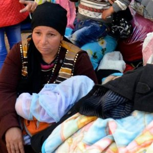 Hundreds of Coptic Christians have fled the Sinai Peninsula to Ismailia city.
