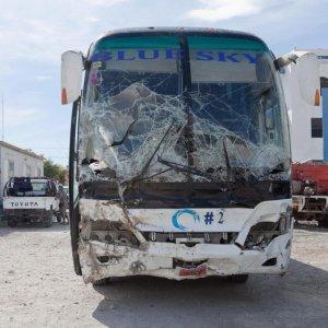 Bus Plows Into Haiti Parade, Killing 38 Pedestrians