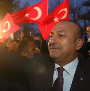 Turkey's Cavusoglu Slams German Antagonism