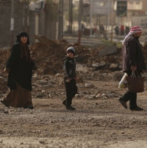 IS Fighters Trapped in West Mosul