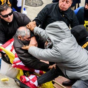 Extremist Jewish Group Beats Protester