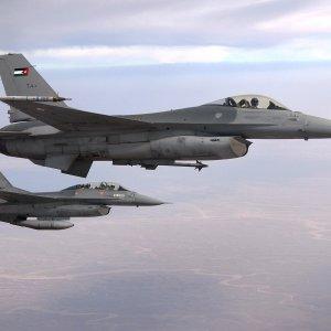 Jordanian fighter jets