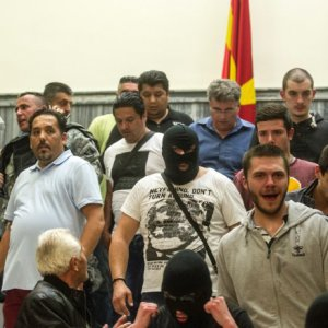 Nationalists Storm Macedonian Parliament