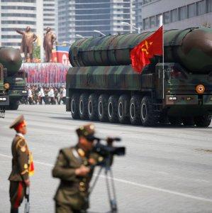 Military parade in Pyongyang, April 15