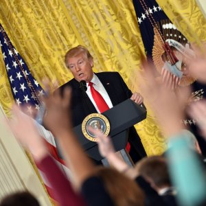 Trump's Differences With Press Intensify