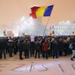 Romanian Minister  Quits Amid Protests