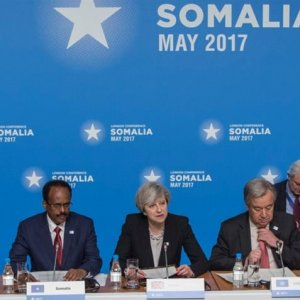 A conference on Somalia was held  in London on May 11.