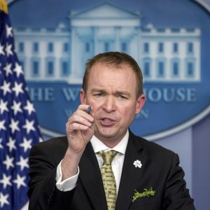 US Budget Chief Wants Border Wall Funds Stipulated
