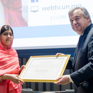 Malala Yousafzai Youngest-Ever UN Messenger of Peace
