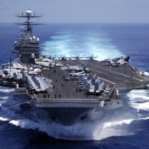 US Aircraft Carrier Deployed  to Patrol South China Sea