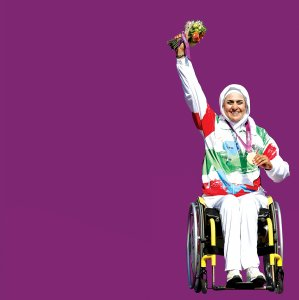 Zahra Nemati Nominated  for Para Woman Archer  of the Year Award
