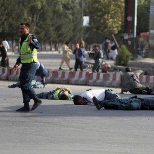 Afghan VP Escapes Blast on Return From Exile