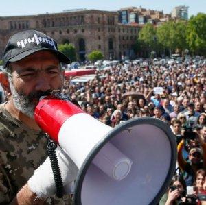 Rallies Resume in Yerevan