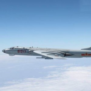 Chinese Strategic Bombers in Action