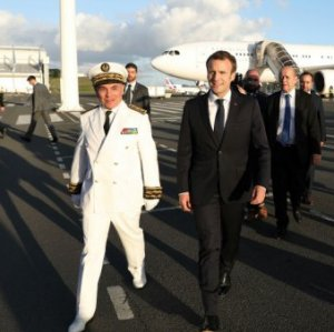 Macron in New Caledonia Ahead of Independence Vote