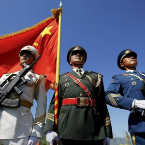 The defense talks between the two countries resumed  on Monday after a 2-year hiatus.