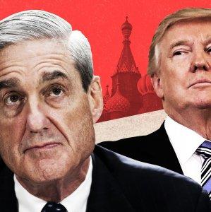 Donald Trump (R) and Robert Mueller