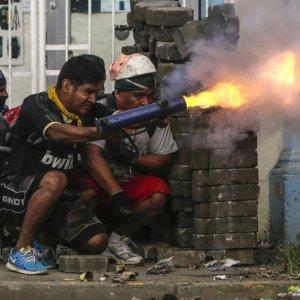 Raging Violence in Nicaragua