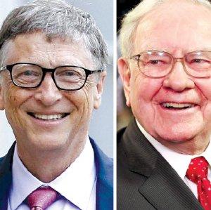 World's top five billionaires (from L): Jeff Bezos, Bill Gates, Warren Buffett, Amancio Ortego and Mark Zuckerberg.