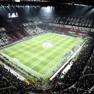 San Siro Stadium, the home of AC Milan