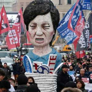 Public demand for change in South Korea's economic system remains high.