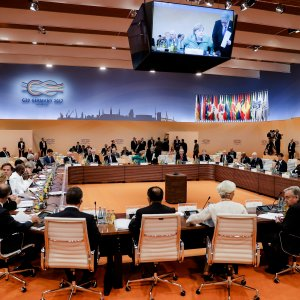 G20 Closes Ranks Except on Climate Issue