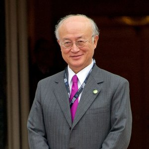 Amano to Visit on Saturday