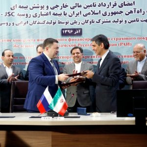 Iran, Russia Sign Deal to Finance €3b for Joint Rolling Stock Production