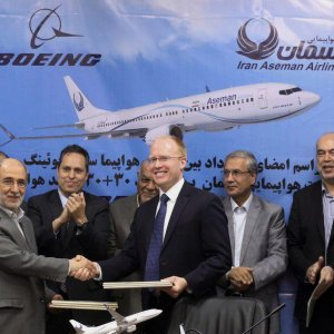 Breaking - Iran Aseman Airlines Signs Firm Contract to Buy 30+30 Boeings