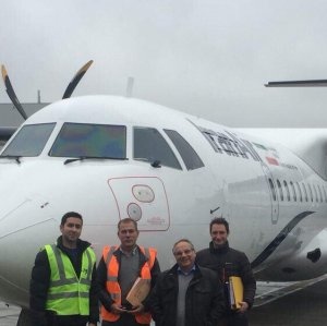 2 More ATRs for Iran Air by Dec.
