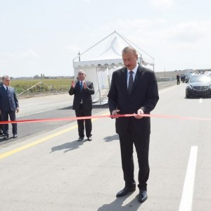 Section of Iran-Azerbaijan Highway Inaugurated