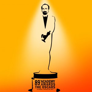 With this award, Farhadi joins 23 great directors of cinema history who have won two Academy Awards or more. (Design: Vahid Sabet)