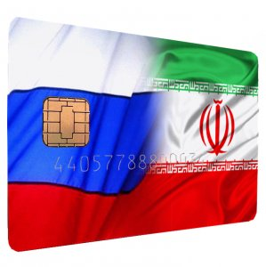 Iran, Russia Integrate Bank Card Systems (Graphic Design: Vahid Sabet)