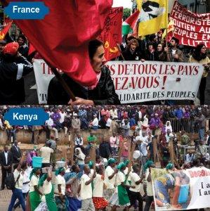 May Day Rallies Worldwide Turn Violent