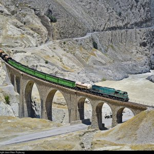 Exports Via Railroad Up 55 Percent - (Photo: Jean-Marc Frybourg, Railpictures.net)