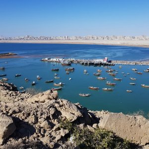 The Iranian part of Makran Coast, bordering the two southern provinces of Hormozgan and Sistan-Baluchestan, is home to the strategic port of Chabahar.