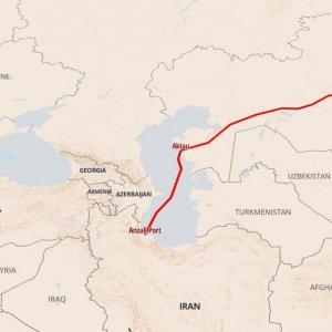 New Transport Corridor Links Iran's Caspian Port to China, Kazakhstan