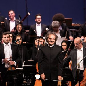 Iran's National Orchestra conducted by Fereydoun Shahbazian (L), and Tehran Symphony Orchestra by Shahrdad Rouhani are among participating ensembles